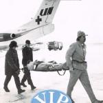 Linjeflygs personaltidning VIP om sjuktransportövning med F28